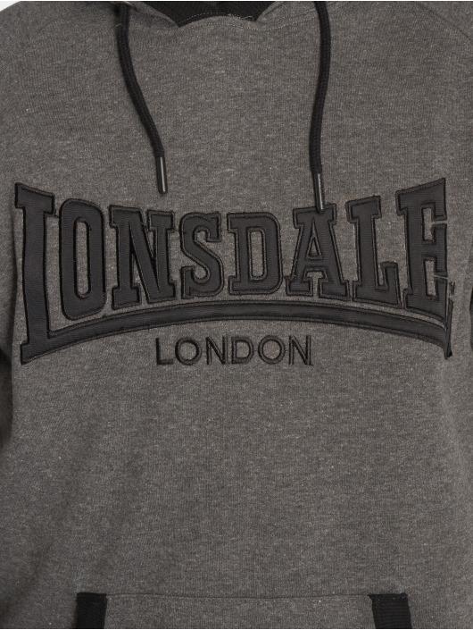 Lonsdale London Hoody Ashford Hill grau
