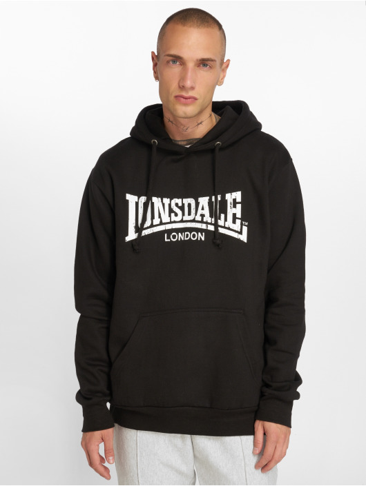 Lonsdale London Hoody Wolterton schwarz