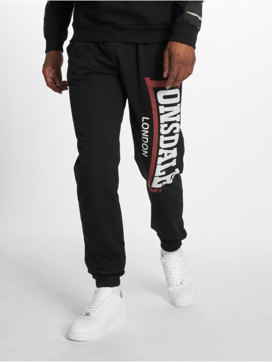 Lonsdale London Jogginghose Stockenchurch schwarz