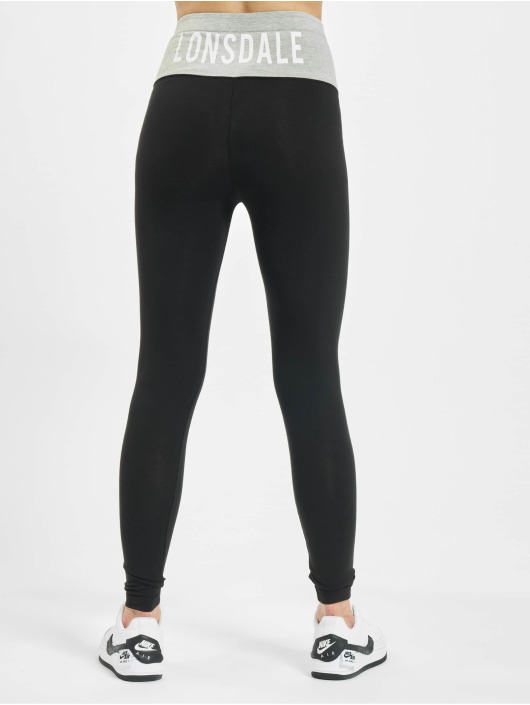 Lonsdale London Leggings/Treggings Lancych black