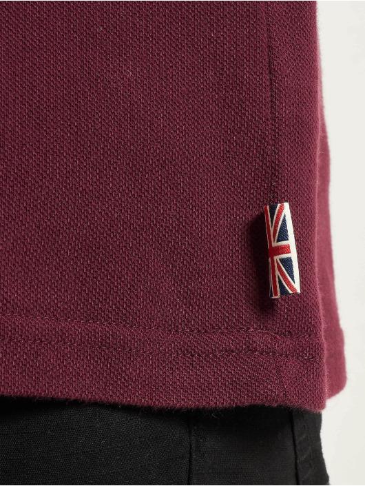 Lonsdale London Poloshirt Lion rot