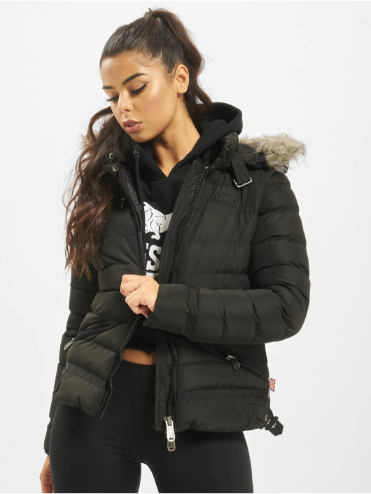 Lonsdale London Puffer Jacket Appledore black