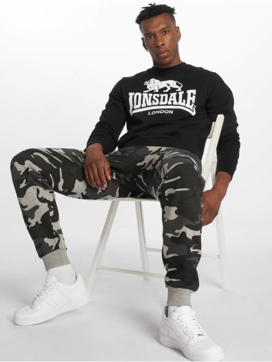 Lonsdale London Pullover Gosport schwarz