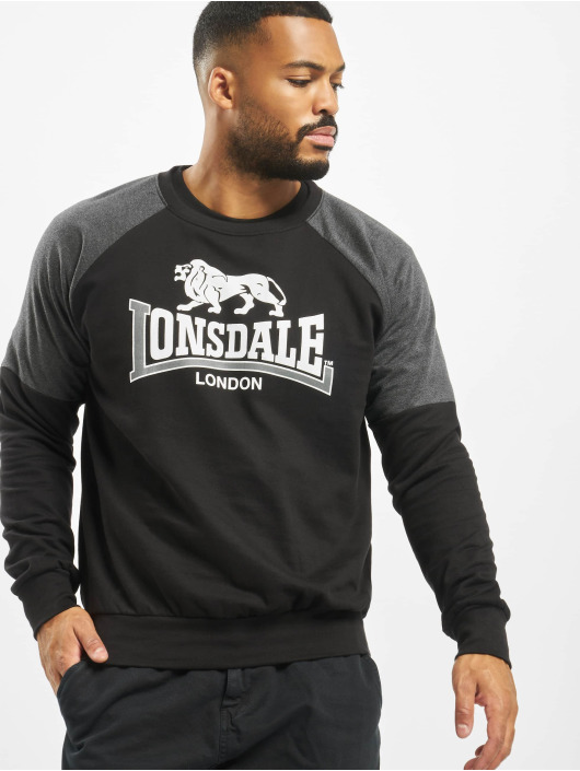 Lonsdale London Pullover Grosvenor schwarz