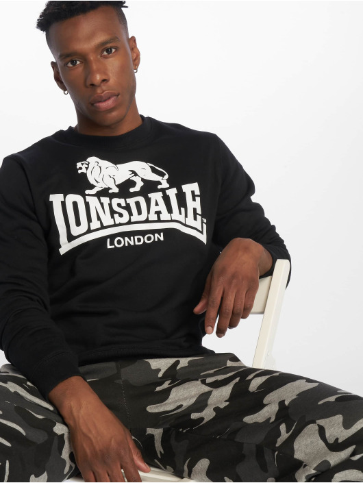 Lonsdale London Pulóvre Gosport èierna