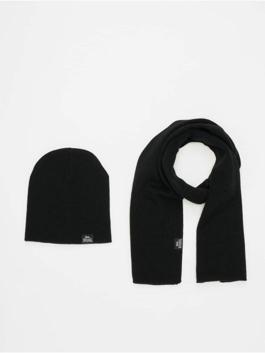 Lonsdale London Sjal/tørkler Leafield svart
