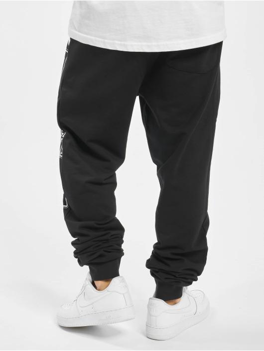 Lonsdale London Spodnie do joggingu Marldon czarny