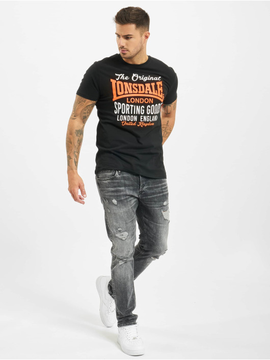 Lonsdale London T-Shirt Usborne black