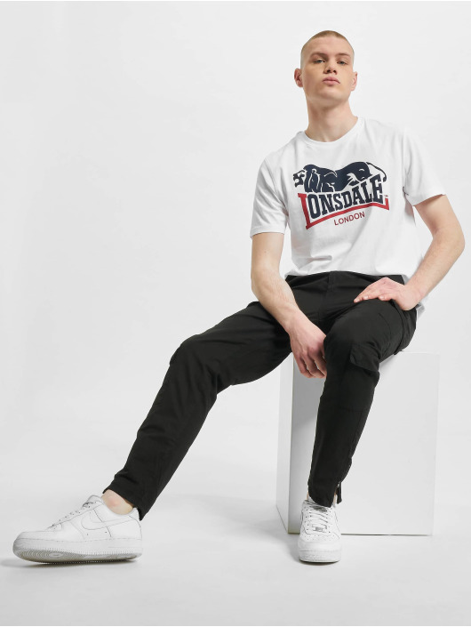 Lonsdale London T-Shirt Loscoe 2-Pack blanc