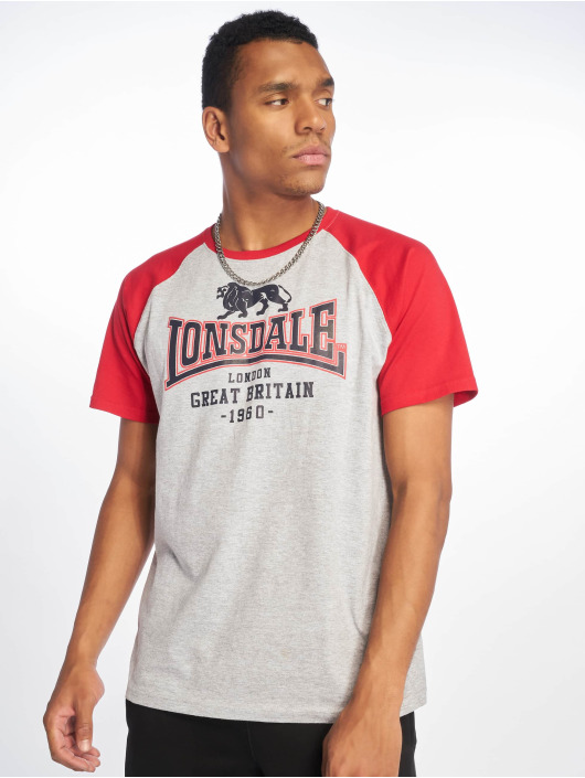 Lonsdale London T-Shirt Heyford grau