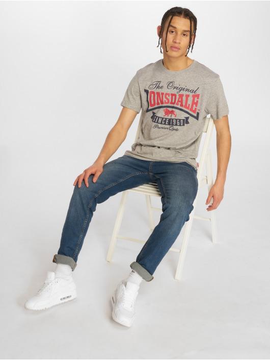 Lonsdale London T-Shirt Corrie gris