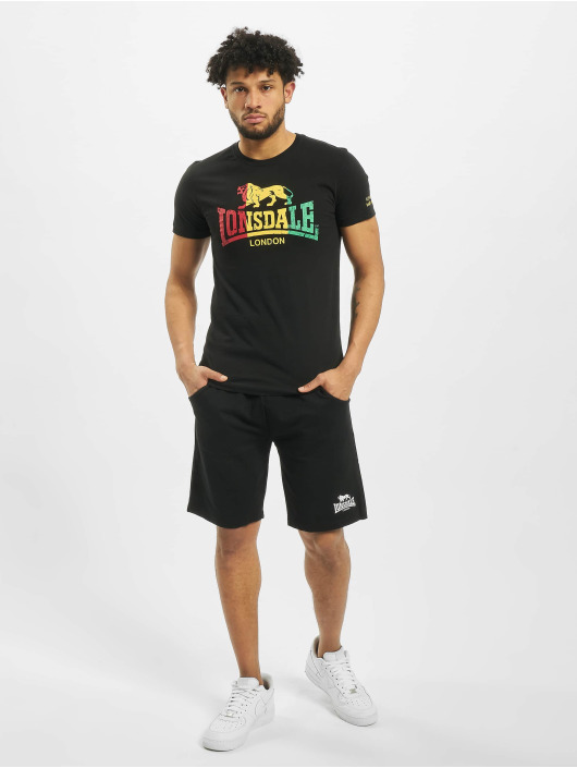 Lonsdale London T-Shirt Freedom schwarz