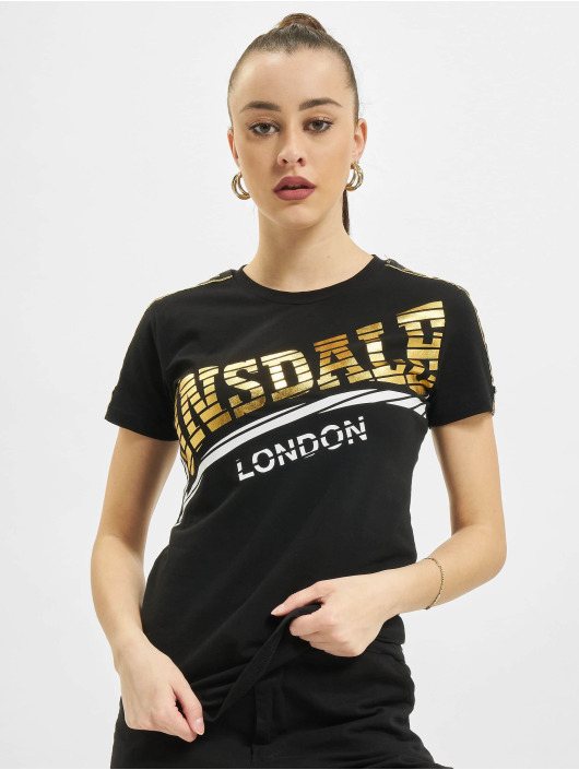 Lonsdale London T-Shirt Langrick schwarz