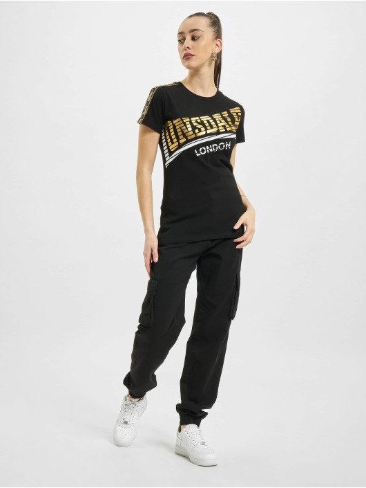 Lonsdale London T-shirt Langrick svart