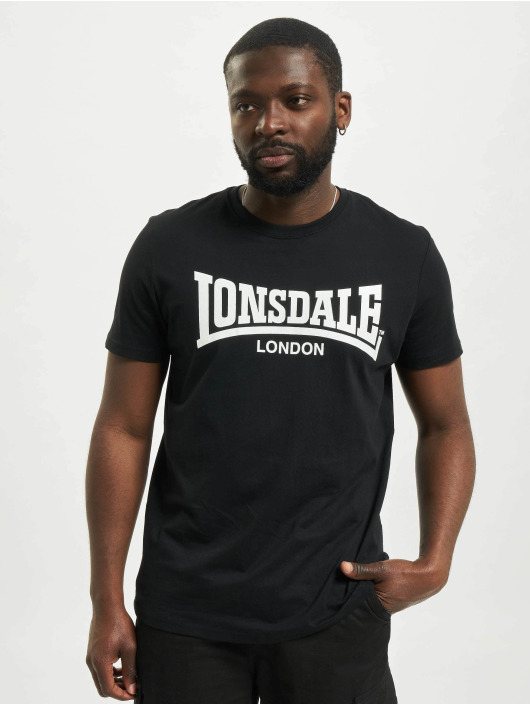 Lonsdale London T-shirt Sussex - Double Pack svart
