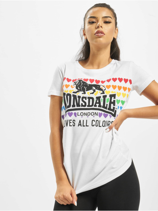 Lonsdale London T-Shirt Teresa weiß