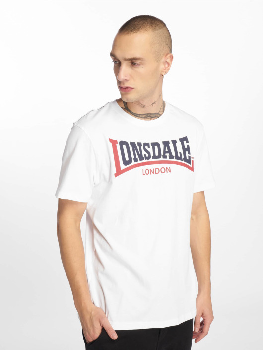 Lonsdale London T-Shirt Two Tone weiß
