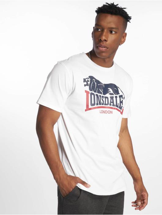 Lonsdale London T-Shirt Hopperton white