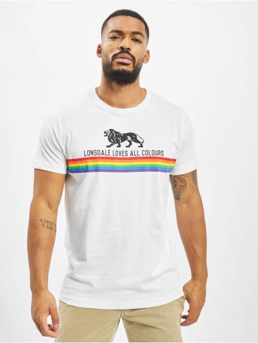 Lonsdale London T-Shirt Nelson white