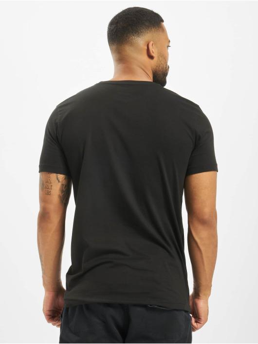 Lonsdale London t-shirt Nelson zwart