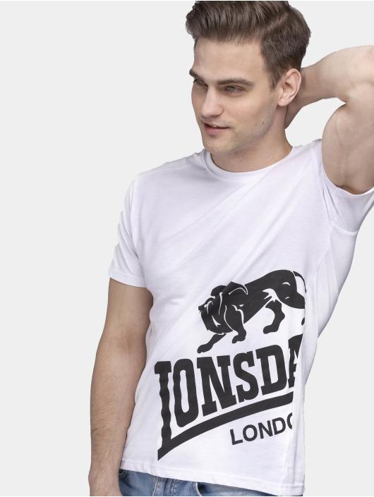 Lonsdale London T-shirts Dereham hvid