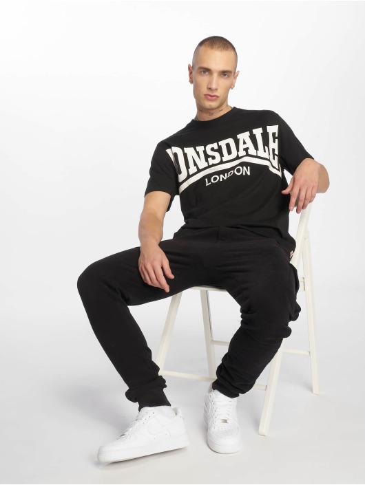 Lonsdale London T-Shirty York czarny