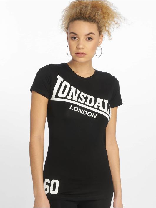 Lonsdale London T-Shirty Faunce czarny