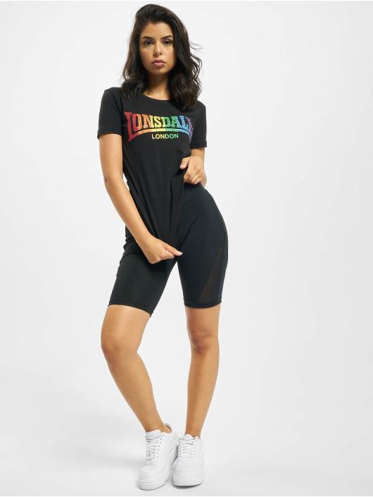 Lonsdale London T-Shirty Happisburg czarny