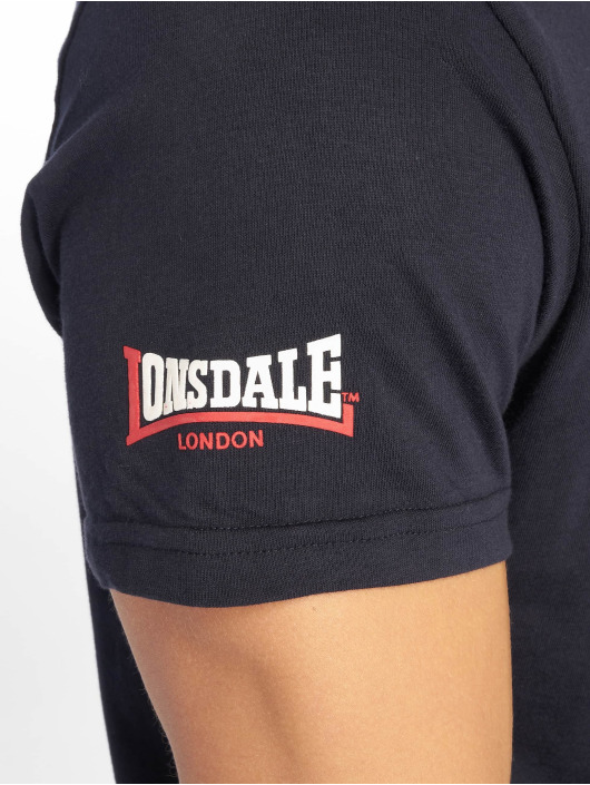 Lonsdale London T-Shirty Raversdon niebieski