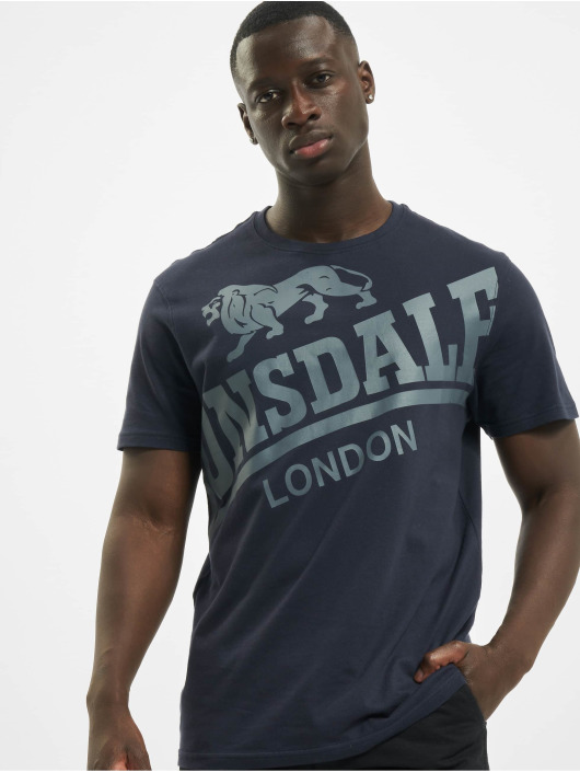 Lonsdale London T-Shirty Watton niebieski