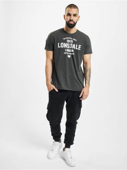 Lonsdale London T-Shirty Rhydowen szary