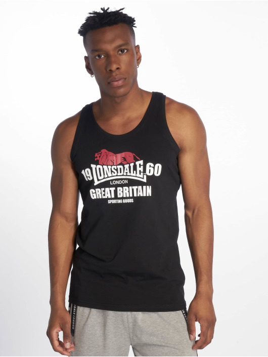 Lonsdale London Tank Tops Turnditch svart