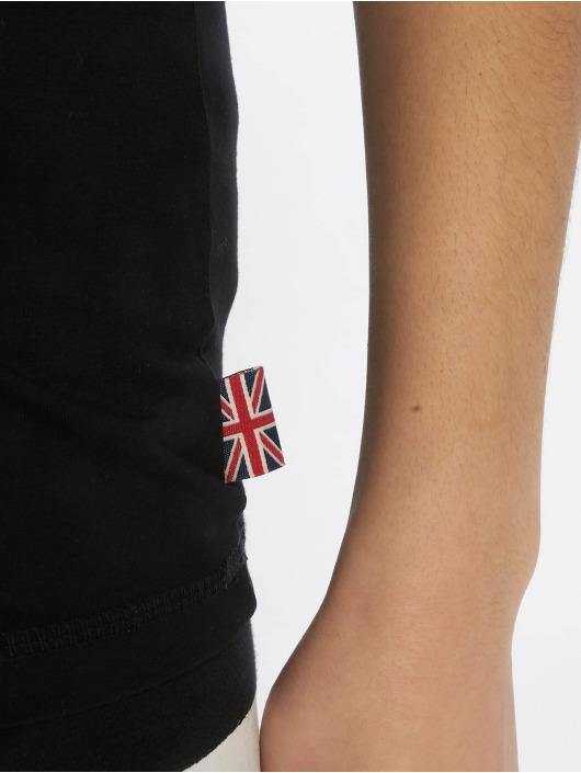 Lonsdale London Tričká Faunce èierna
