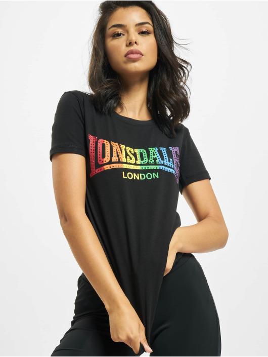 Lonsdale London Tričká Happisburg èierna