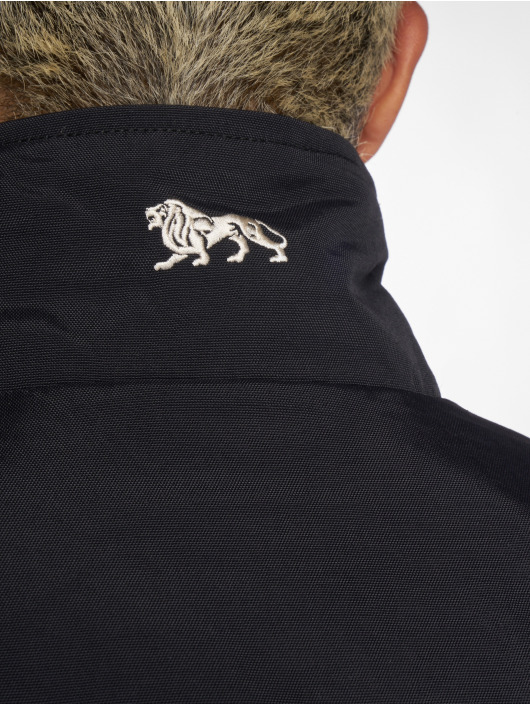 Kleidung & Accessoires Lonsdale London Herren Jacke Odiham Schwarz Winterjacke Übergangsjacke