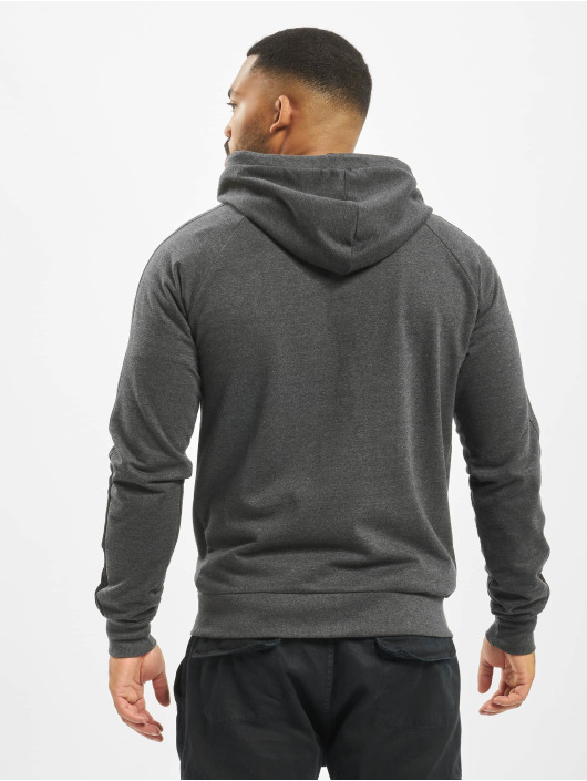 Lonsdale London Zip Hoodie Adbury Regular Fit grey