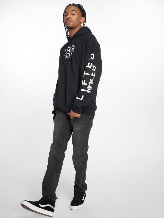 LRG Hoodie Kanji black