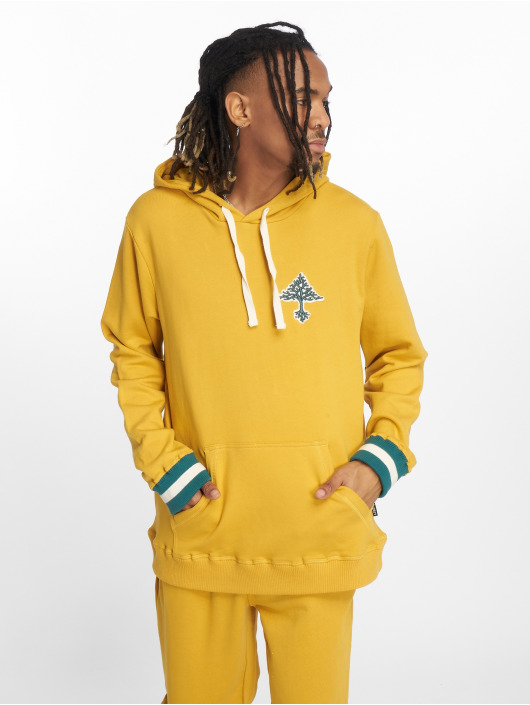 LRG Hoodie Always On The Grow gold colored