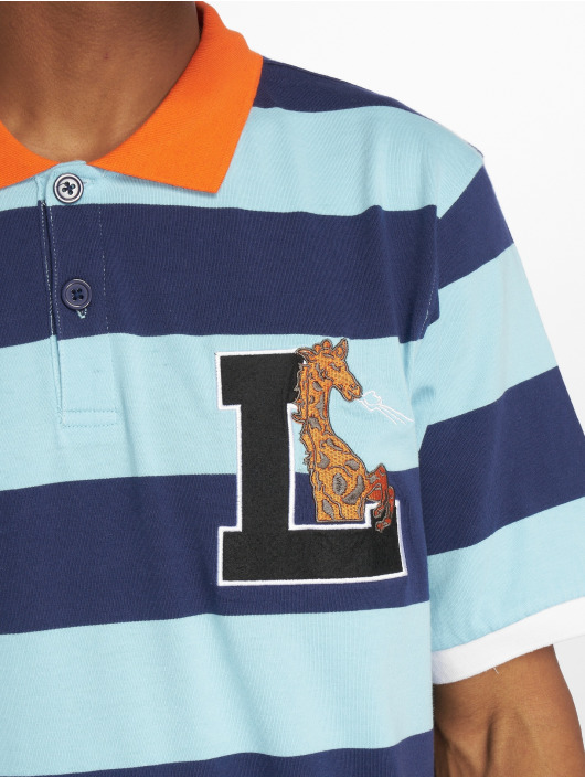 LRG Polokošele Giraffe Stripe modrá