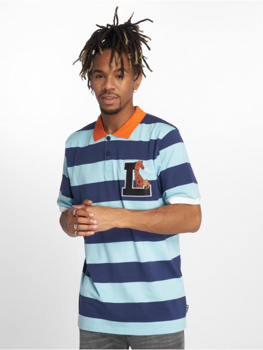 LRG Poloshirt Giraffe Stripe blue