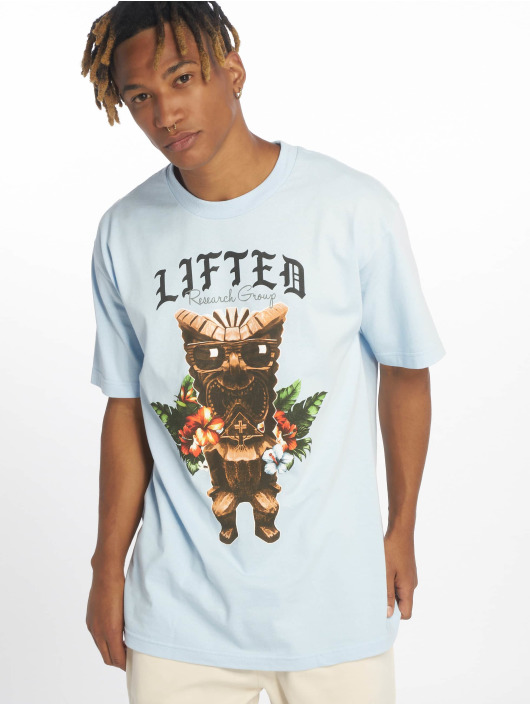 LRG T-Shirt Party God blau