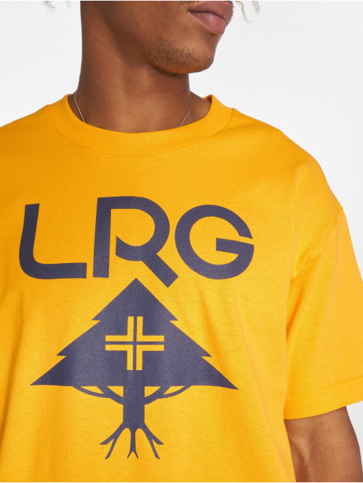 LRG T-Shirt Classic Stack yellow