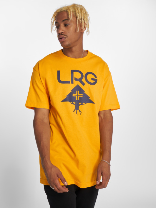 LRG Tričká Classic Stack žltá