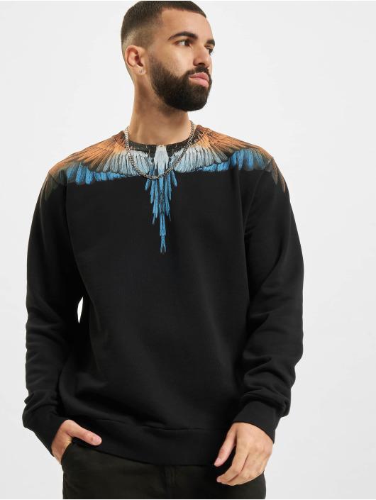 Marcelo Burlon Пуловер Wings синий
