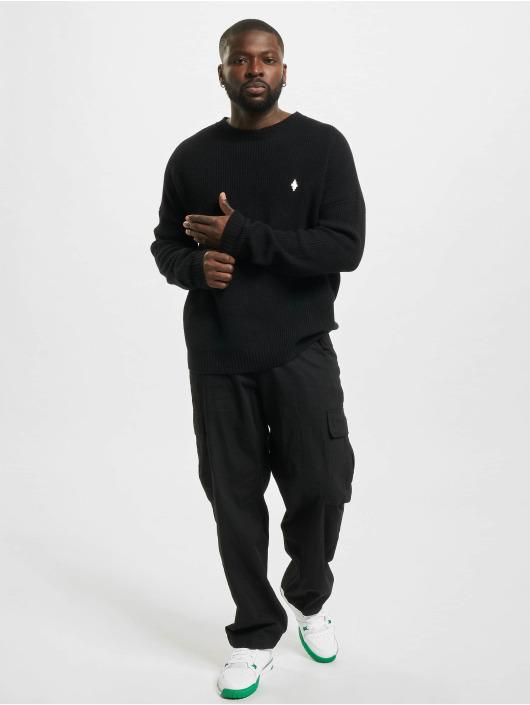 Marcelo Burlon Пуловер MBCM Wool Regular Knit черный