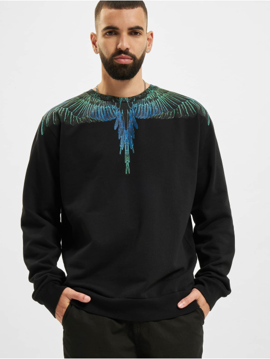 Marcelo Burlon Пуловер Wings черный