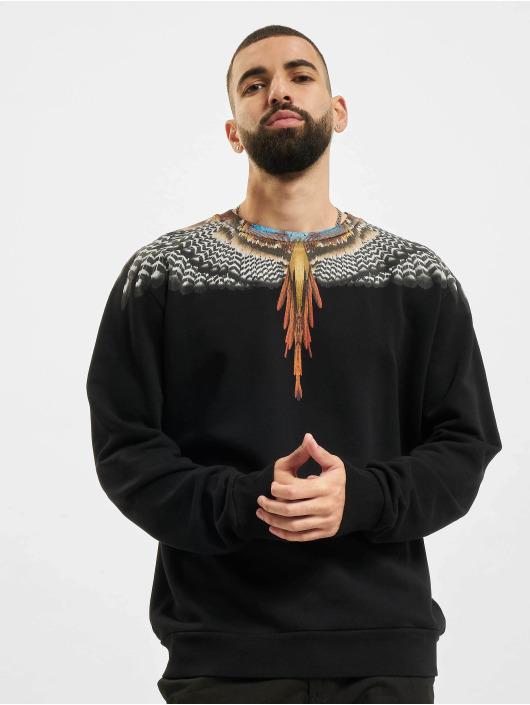 Marcelo Burlon Пуловер Grizzly Wings черный