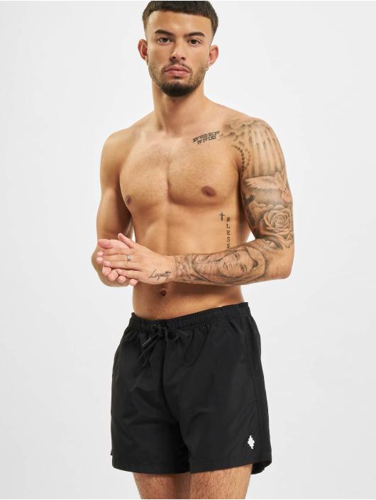 Marcelo Burlon Badshorts Swim svart
