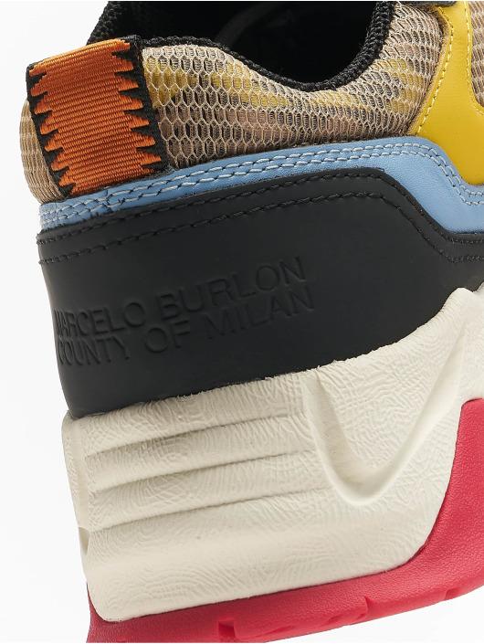 Marcelo Burlon Baskets C-Run multicolore