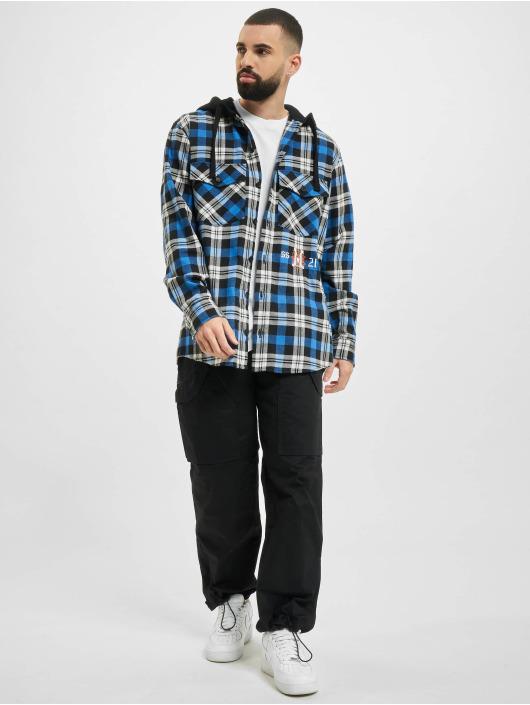 Marcelo Burlon Camisa Monogram Check Hoody negro